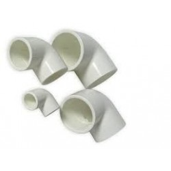 Royal Exclusiv - PVC 90° Elbow Ø 50 mm White